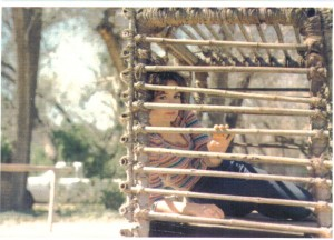 Young Me in a Cage
